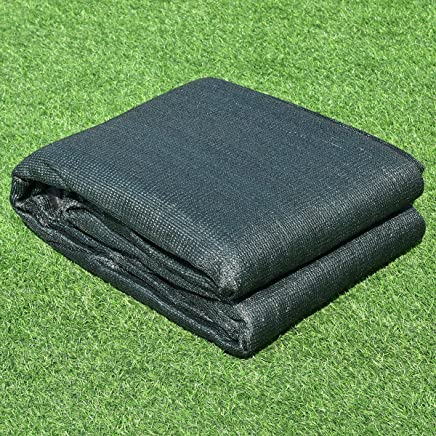 6 x 50 Patio Pool Porch Fabric Mesh Privacy Fence Ideal for Patio,