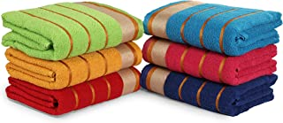 """Premium 100% Cotton 6 Piece Bath Towels Set 