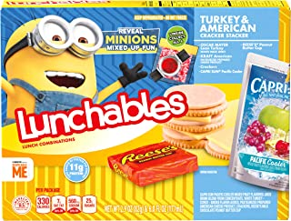 Lunchables Turkey & American Stackers (8.9 oz Tray)