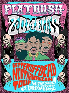 Flatbush Zombies Poster Standard Size 18×24 inches