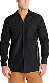 Red Kap Men's Industrial Long Sleeve Work Shirt