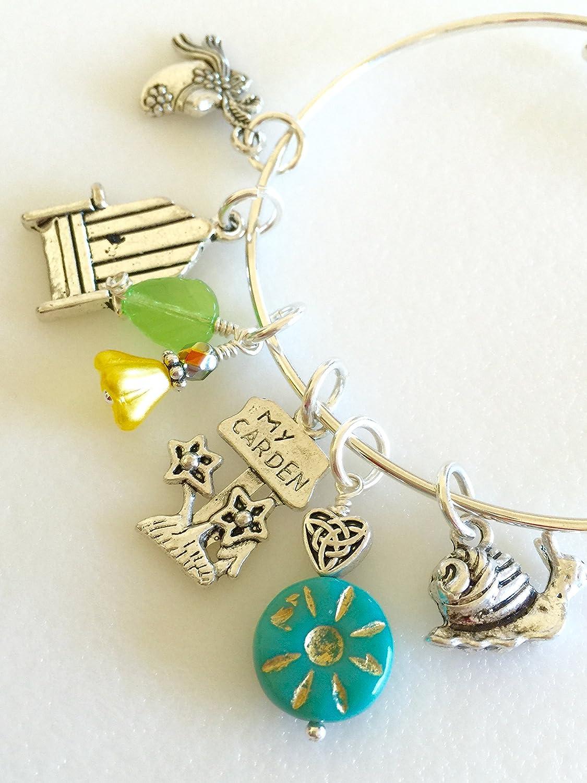 Garden Bangle Bracelet