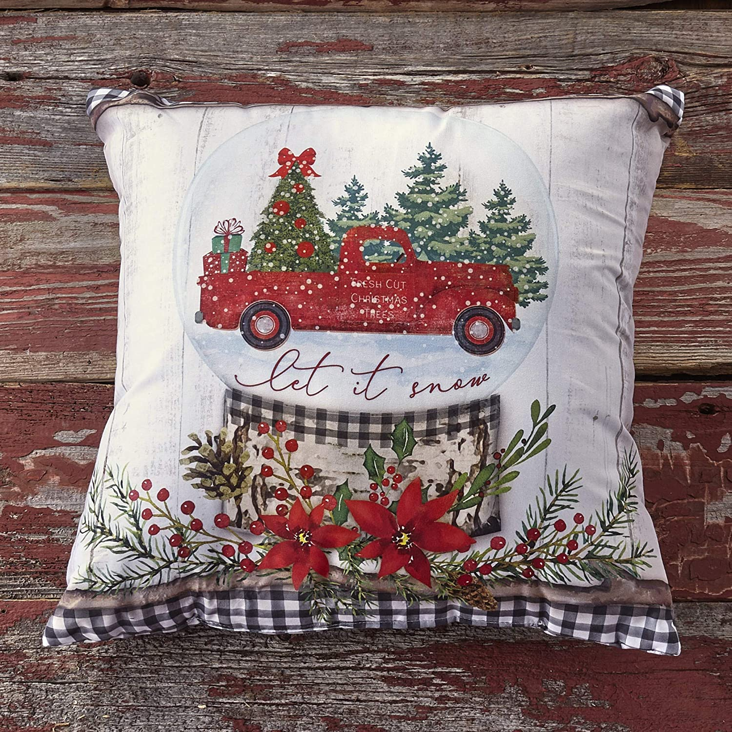 The Lakeside Boston Mall Collection Christmas Throw with Winter Pillow Ranking TOP8 Holid
