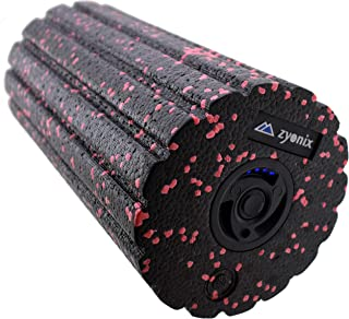 Zyonix Vibrating Foam Roller US Charger, Professional Muscle Recovery Electric Massage Powerful Motor