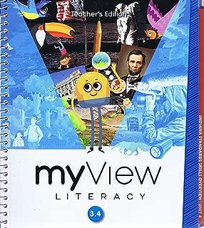 My View Literacy 3.4 Teacher's Edition (Unit 4 Answer Keys)
