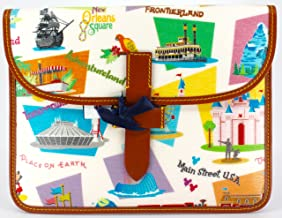Disney Dooney Bourke Disneyland Retro DLR iPad Tablet Case Bag