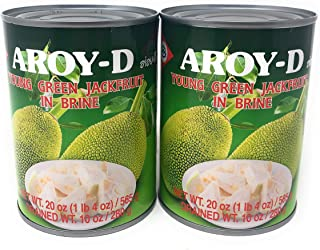 AROY-D YOUNG GREEN JACKFRUIT IN BRINE (2 PACK)