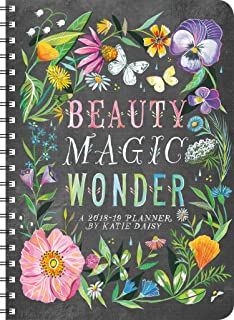Katie Daisy 2018 - 2019 On-the-Go Weekly Planner: 17-Month Calendar with Pocket (Aug 2018 - Dec 2019, 5 x 7 closed)