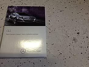 2013 Mercedes Benz CLS Class Digital Operators Owners Manual CD DVD OEM