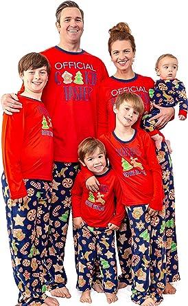 Amazon Com Mjc International Juego De Pijamas Para Galletas De Navidad A Juego Con Diseño De Familia Clothing