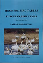 Hookers Bird Tables European Bird Names Latin Suomi Svenska