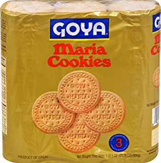 Goya Foods Maria Cookies Family Pack, 21.16 Ounce (Pack of 10)
