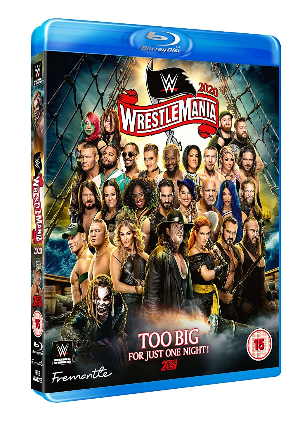 WWE: WrestleMania Raleigh Mall 36 Excellence Blu-ray