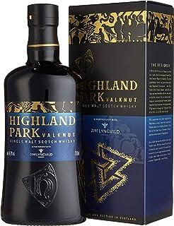 Highland Park Valknut Single Malt Scotch Whisky 1 x 0.7 l – rauchiger, süßer Geschmack durch Lagerung in Ex-Sherry-Fässern, Teil 2 der Viking Legends Trilogie