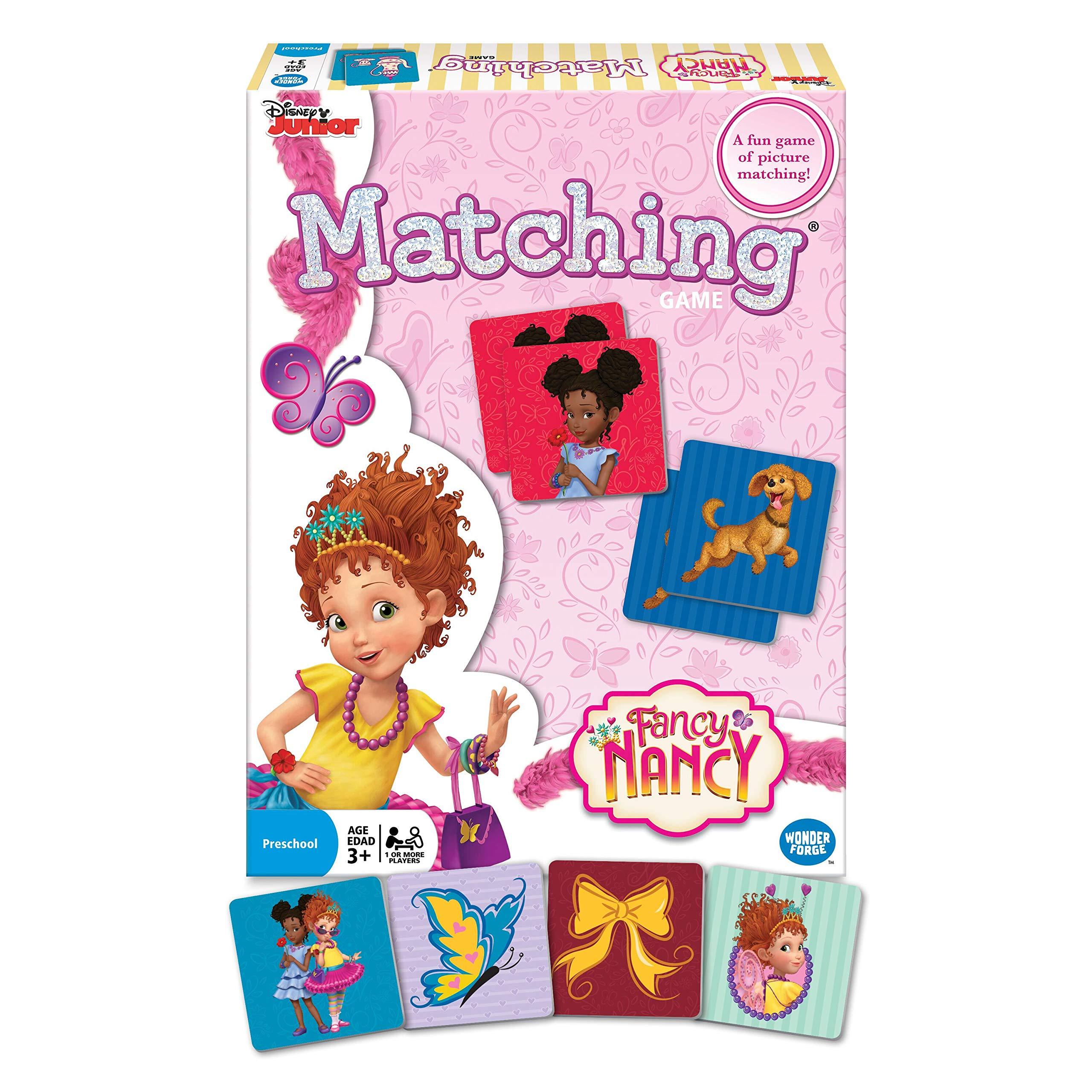 Wonder Forge Disney Junior Minnie Matching Game