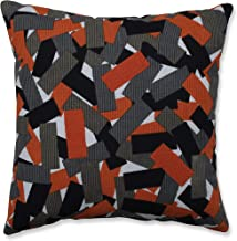 Pillow Perfect Indoor Halloween Tabs Throw Pillow, 17.5 X 17.5 X 5, Black