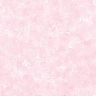Brewster 443-W46018 Gypsum Pink Plaster Texture Wallpaper, Pink