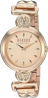 Versus by Versace Women's SUNNYRIDGE Extension Quartz Watch with Strap, Rose Gold, 85 (Model: VSPOL3518