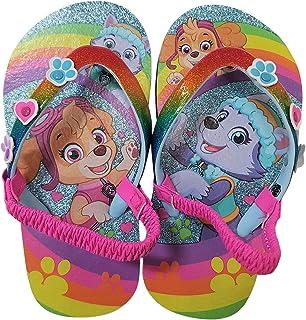 1a558c788 Paw Patrol Girls Flip-Flop Sandals Rainbow Skye Everest