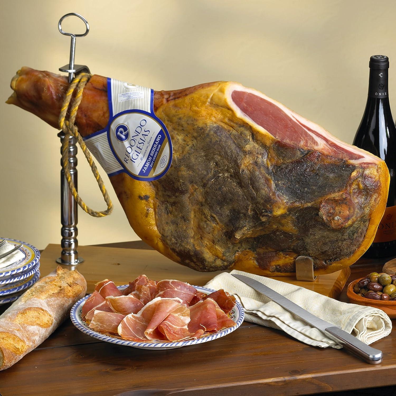 Sacramento Mall Redondo Iglesias Bone-In Be super welcome Jamon lbs 16-18 Serrano Ham