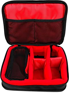DURAGADGET Protective EVA Action Camera Case (in Red) - Suitable for The Veho VCC-006-K1 - Muvi K-Series K-1 VCC-006-K2NPNG- Muvi K-Series K-2 NPNG VCC-006-K2S - Muvi K-Series K-2 Sport