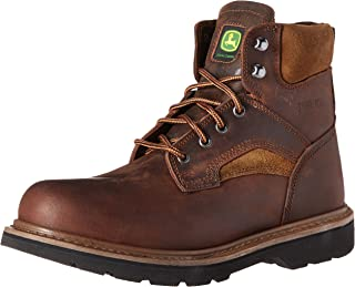 John Deere Men's 6-Inch Farm EH LU Work Boot