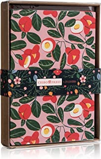 Ceibo Press Greeting Cards and Envelopes Set by Ana Sanfelippo   Stationery for Letters, Thank-You Notes (12 Cards & 12 envelopes)