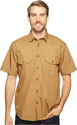 Short Sleeve Feather Cloth Shirt