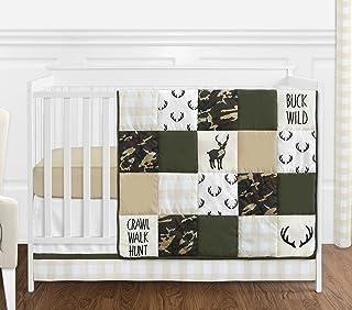 Camo Deerhead Baby Blanket baby boy blanket Green camo Blanket Forest baby blanket Woodland Nursery Flannel Blanket hunting baby camouflage