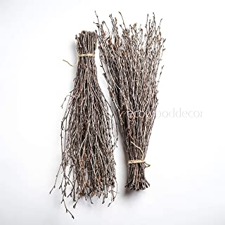Birch Branches Wedding centerpieces or vase Decoration. Set of 2 Bundles (100 Twigs)
