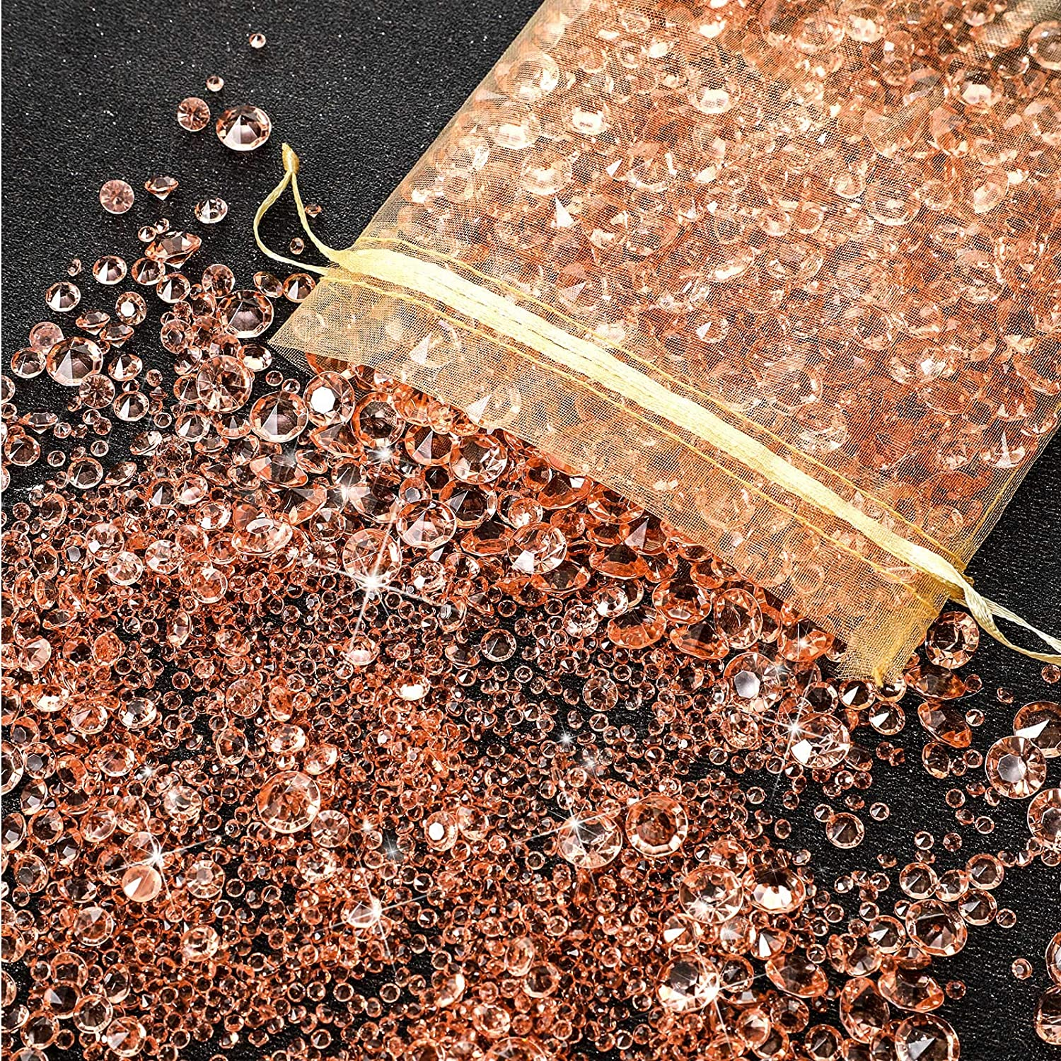 4000 Japan's largest assortment Pieces Bling Diamond Acrylic Gem m Ranking TOP19 Table Scatter 3 Crystals