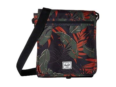 Herschel Supply Co. Lane (Dark Olive Palm) Messenger Bags