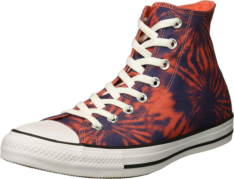 Converse Mens Chuck Taylor All Star Tie Dye High Top Sneaker
