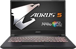[2020] AORUS 5 (KB) Gaming Laptop, 15.6-inch FHD 144Hz IPS, GeForce RTX 2060, 10th Gen Intel i7-10750H, 16GB DDR4, 512GB N...
