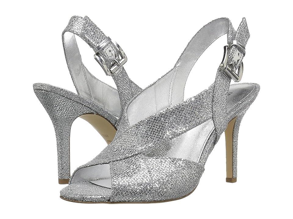 MICHAEL Michael Kors Becky Sandal (Silver/Silver) Women