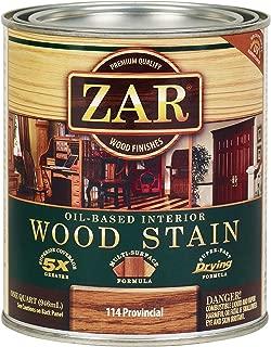 ZAR 11412 Wood Stain, QT, Provincial