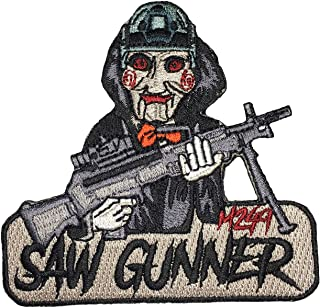 M249 Saw Gunner - Embroidered Morale Patch