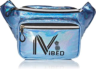 IVIBED Rave Fanny PackEDM Festival Water 2019 Glitter Holographic