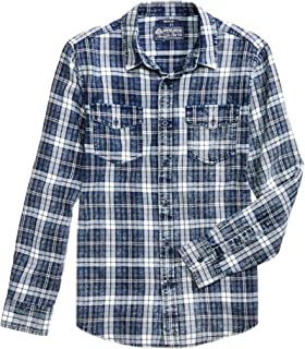 American Rag Mens Jackle Distressed Button Up Shirt
