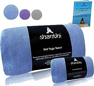 Shantihi Hot Yoga Mat Towel or/and Travel Gym Workout...