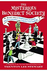 The Mysterious Benedict Society: Mr. Benedict's Book of Perplexing Puzzles, Elusive Enigmas, and Curious Conundrums Paperback