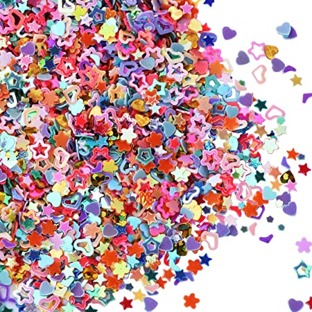 Glittering Confetti Fun Assortment by Creation Station