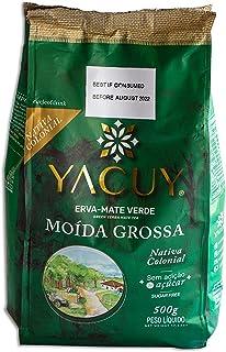 Circle of Drink - Yacuy Medium Cut (Moida Grossa) Green Brazilian Yerba Mate Tea - Gourmet Erva Mate Chimarrao - Super Fre...