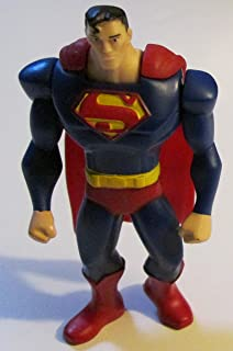 McDonalds Happy Meal -DC Comics Young Justice Superman Figure Toy #4 (2011)