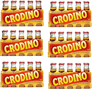 60 x San pellegrino Crodino Aperitif sin alcohol amargo de Italia 100 ml