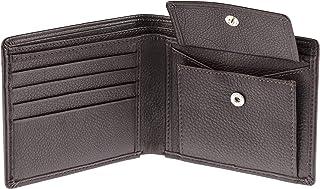 Bifold Card Pocket Wallet for Men Coin/Change Pocket Wallet SD 007 (Brown)