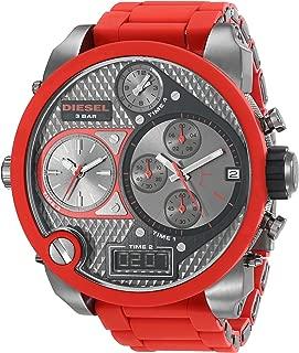 Men's DZ7279 The Daddies Series Analog Display Analog Quartz Red Watch