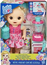 Best Baby Alive Magical Mixer Baby Doll Strawberry Shake with Blender Accessories, Drinks, Wets, Eats, Blonde Hair Toy for Kids Ages 3 and Up Review