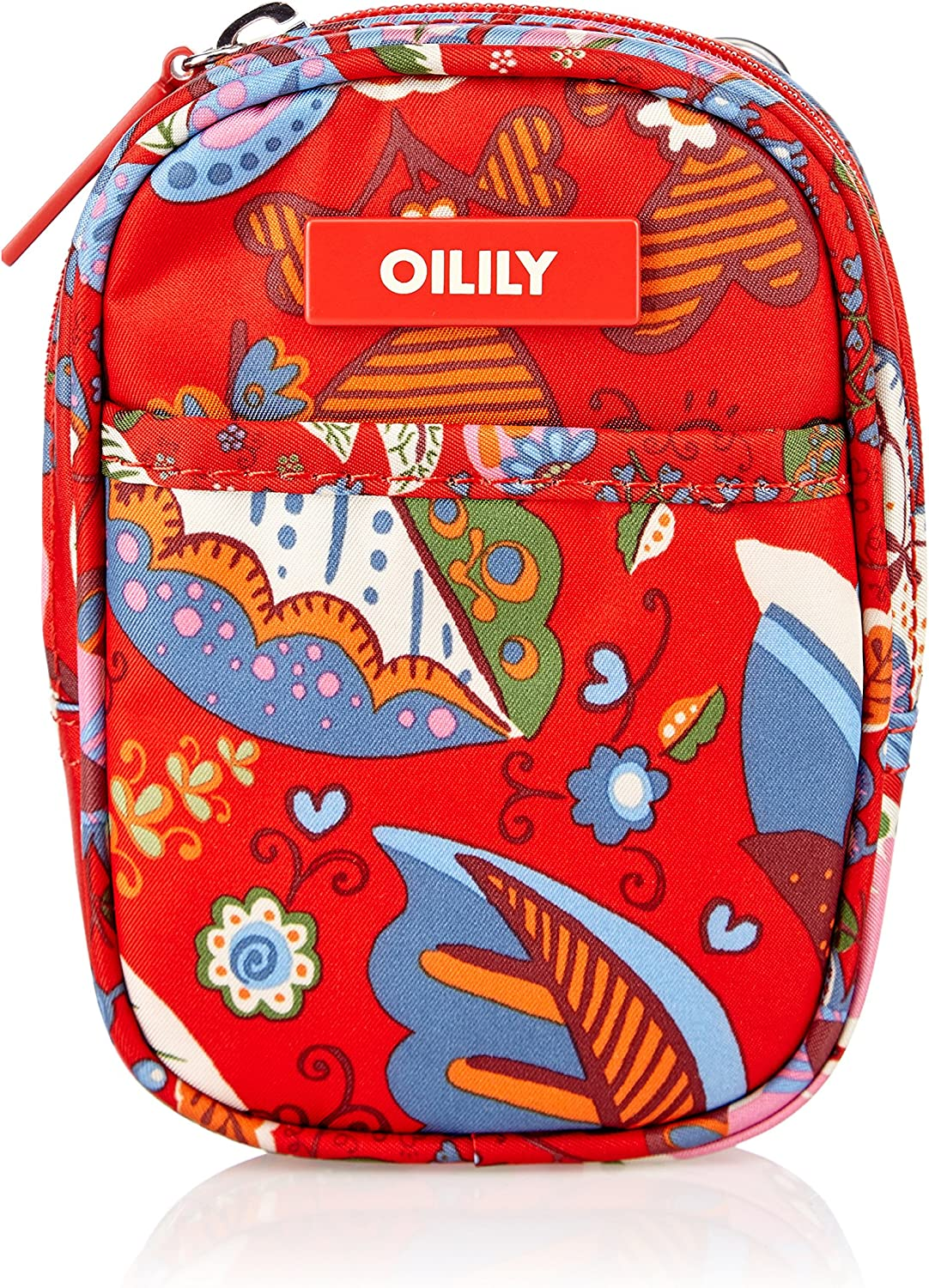 Oilily Luxurious Fall Winter Collection Floral Print Crossbody Pouch