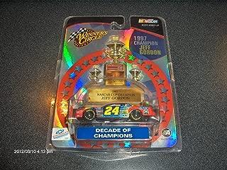 Jeff Gordon #24 Dupont Decade of Champions 1997 Champion 1:64 scale 2003 Winners Circle Diecast Car